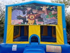 Jungle Bounce House Large