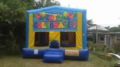 Lets Celebrate Bounce House Large