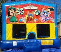 Lilo & Stitch Bounce House Large