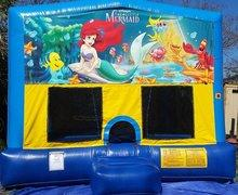 Little Mermaid Bounce House Large