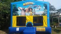 Madagascar Bounce House Large