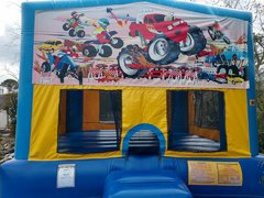 Monster Truck Bounce House Large