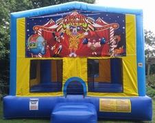 Circus Bounce House Large