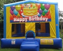 Happy Birthday 1 Bounce House Large