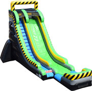 22ft Toxic Dry Slide