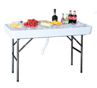 4ft Cooler Ice Tables