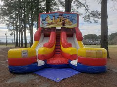 Aladdin Double Wet Slide