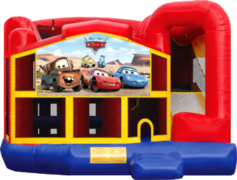 Disney Cars 5 in 1 Wet Combo