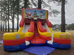 Christmas Double Dry Slide