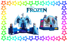 Frozen Bounce and Slide Package