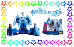 Frozen Bounce and Water Slide Package