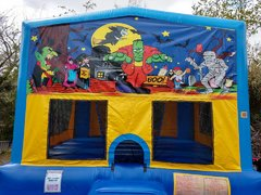 Halloween 4 Bounce House Large