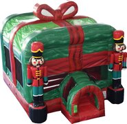 Nutcracker Christmas Bounce House