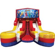 Power Rangers Double Dry Slide
