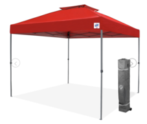 10ft x 10ft Red Pop Up Tent