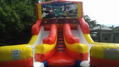 Patriotic Double Wet Slide