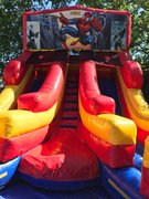Spiderman Double Wet Slide