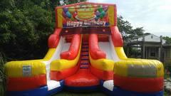 Happy Birthday 1 Double Dry Slide