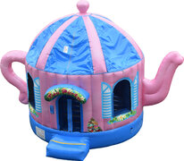 Tea Party Bounce House