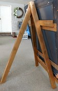 Extra Large Gold Wooden Easel