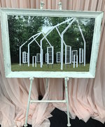 Large White Easel