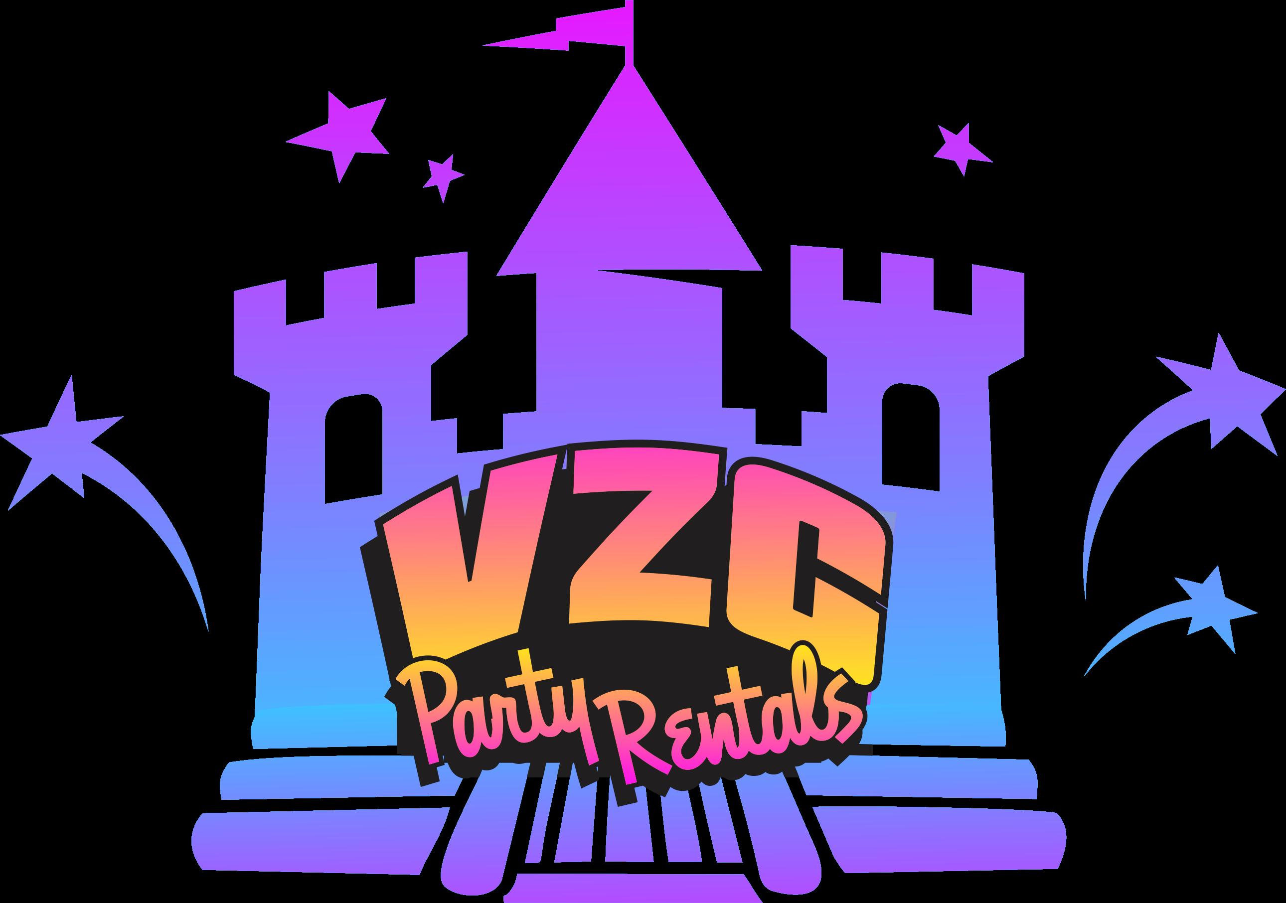 VZC Party Rentals Logo