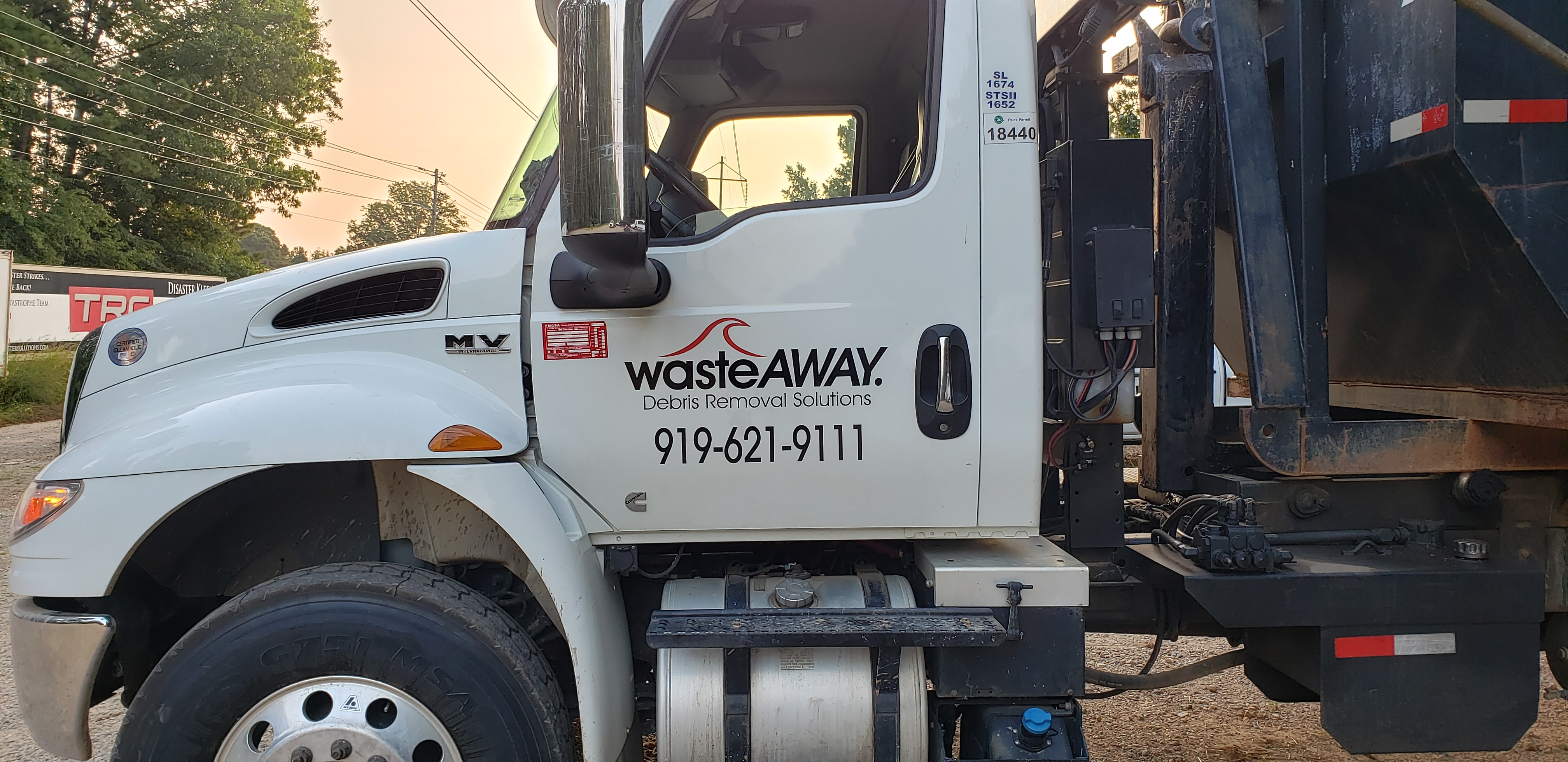 waste away dumpsters