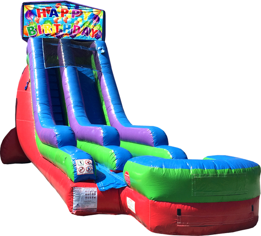18 Ft Water Slide Balloon Birthday