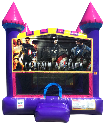 Captain America Dream Jump House