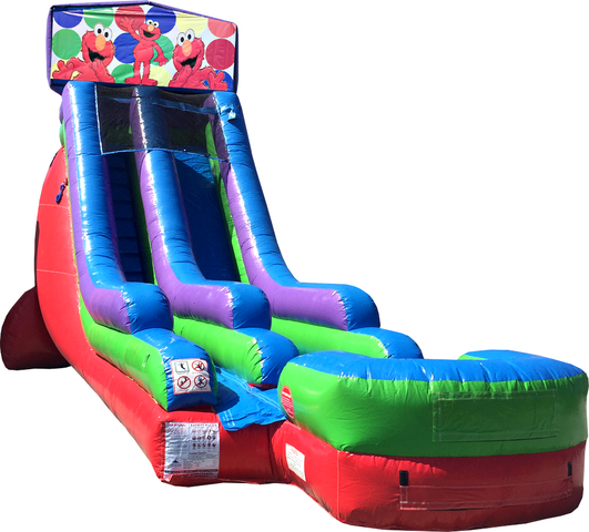 18Ft Water Slide Elmo