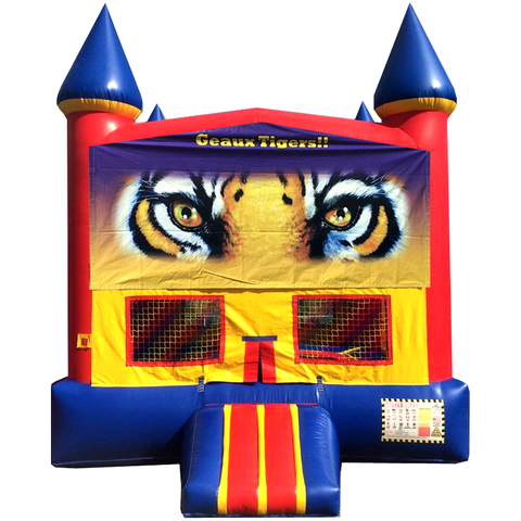 Tiger Jump House Red
