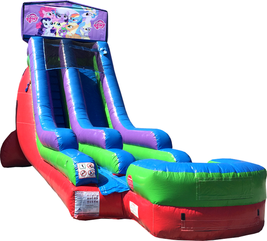18 Ft Water Slide My Little Pony