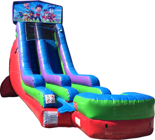 18 Ft Water Slide Paw Patrol