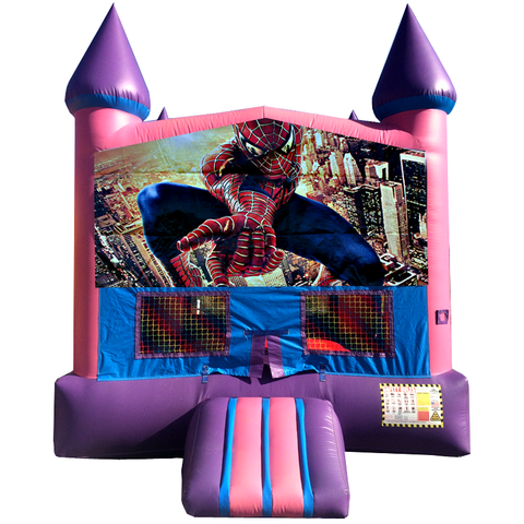 Spiderman Jump Pink