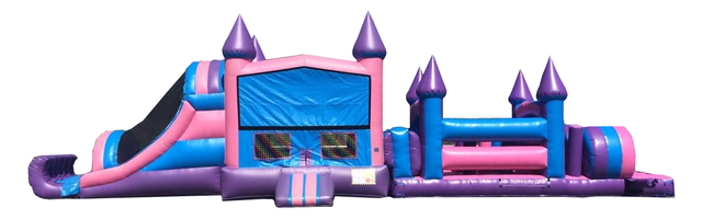 50' Girls Pink Obstacle Course