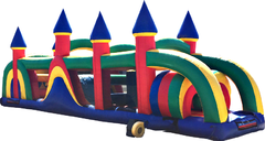 38 Ft Obstacle Course Castle Top