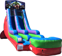 18Ft Dry Slide Avengers Dry Only