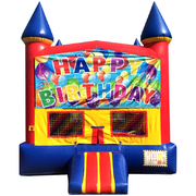 Ballon Birthday Jump Red