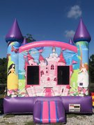 Princess Jump House Full Front Print
