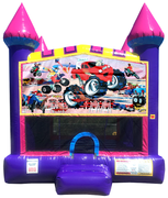 Monster Truck Dream Jump House