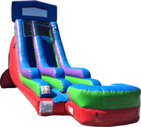 18 Ft Single Lane Module Water Slide