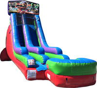 18 Ft Water Slide Nascar