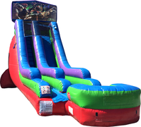 18 Ft Water Slide Ninja Turtle