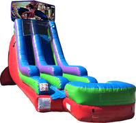 18 Ft Water Slide Spiderman