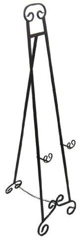 Large Wrought Iron Easel
