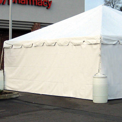 Solid Tent Sidewall