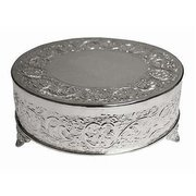 "Cake Stand - 18"" Round (SIlver)"