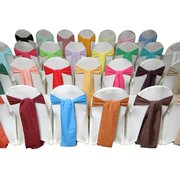 Polyester Chair Sash (Avaliable in most colors)