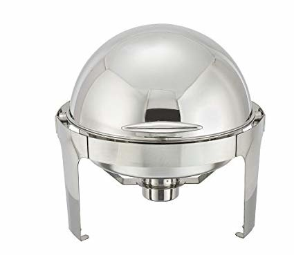 Roll Top Chafer - 6 Quart Round