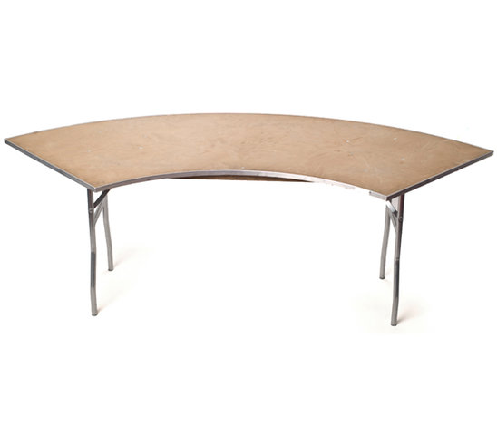 6' Serpentine Table